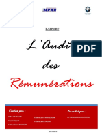 Audit de Rémunération