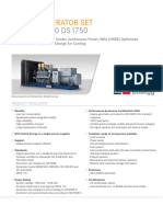 Spec Sheet Mtu 12v4000 Ds1750 Nea