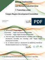 Yangon Region - Yangon Region Development Committee