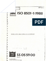 ISO 8501 - 10001 - Preparação da superfície antes da aplicação de Tinta
