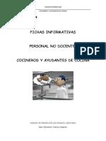 Ficha Cocineros y Ayudantes de Cocina