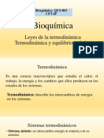 Termodinamica y equilibrio quimico