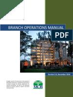 Branch Operations Manual v2.0 - December 2010