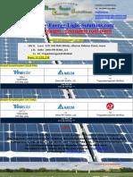 PV-Komplettanlagen mit u. ohne Speicher / Complete PV-Plants with and without Energy storage