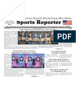May 29 - June 4, 2019  Sports Reporter
