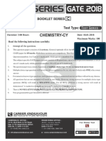 Gate Chemistry Test 3