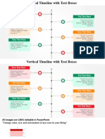 Timeline Free PowerPoint Template Wd