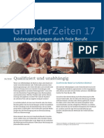 liberal professional (Freiberufler) in Germany