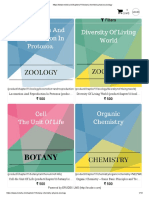 Botany Chemistry Physics Zoology