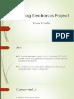 Analog Electronics Project Revised