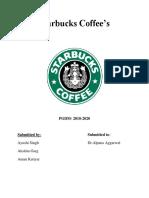 Starbucks Coffee, Team 11