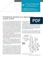 Steam Ejector Troubleshooting