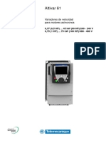 ATV61H 0,37-75 KW 380-480V Manual Instalacion