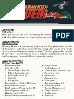 Getaway Driver - Rules