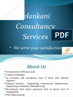 Corporate Profile - Velankani Consultancy Services