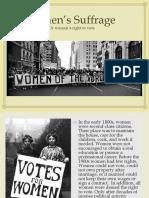Women's Right to Vote (2)
