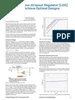 ADI_Understand Low Dropout Regulator (LDO) Concepts to Achieve Optimal Designs.pdf