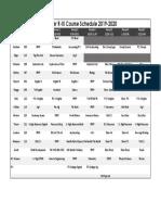 bunker r-iii course schedule 2019-202