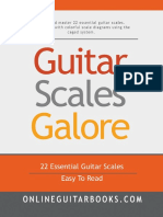 Guitar Scales Galore