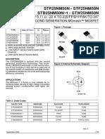 STMicroelectronics-STP25NM50N-datasheet