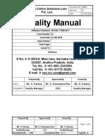 NABL Quality Manual