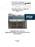 i.e La Merced Diseno Hidrosanitario -Memorias Hs Gas y Rci