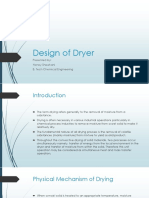 Design of Dryer
