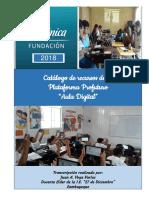 Catalogo de Recursos Aula Digital