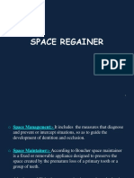 Space Regainer