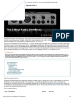 The 5 Best Audio Interfaces for Home & Studio [Mar 2019] _ Equipboard®