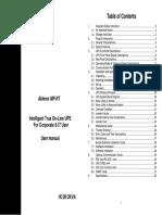 Ablerex MP-RT User Manual