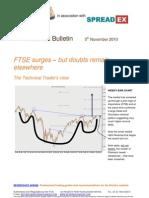 FTSE Surges but Doubts Remain Elsewhere