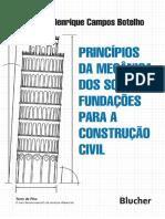 Livro_Princípios Da Mecânica Dos Solos e Fundações Para a Construção Civil