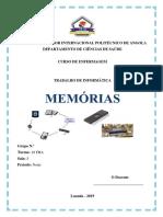 Memórias, Informática
