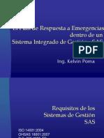 Planes de Emergencias en Sistemas Integrados