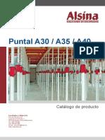 Alsina Catalogo Puntal a30 a35 a40