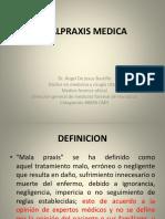 Malpraxis, aplicación en médicos y personal de salud de región sanitaria de La Paz, Honduras
