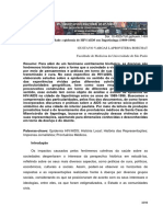Saúde e Sociedade - o Estudo de Caso Da Aids Na Cidade de Itapetininga - Anos 1990