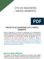 Proyecto de Ingeniería Civil y Medio Ambiente