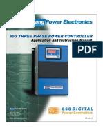 853 Product Manual