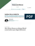 Impeachment de Bolsonaro Entra No Radar -  - Reinaldo Azevedo - Folha