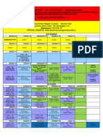International Courses TIMETABLE 2018 19 May22th Upd II BM