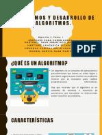 Algoritmos y Desarrollo de Algoritmos-1