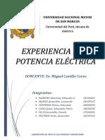 Informe Potencia Lab Física III