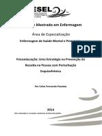 Psicoeducação Uma Estratégia na Prevenção da Recaída na Pessoa com Perturbação Esquizofrénica. Celso Pasadas.pdf