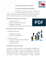 La Cooperacion Internacional en Costa Rica