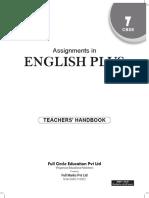 Assignment in English Plus Class 7 Teachers Handbook