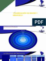 2.2 Planificacion de Macro y Meso
