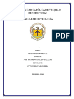 Aproximación a la institución de los sacramentos
