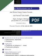 Análisis multivariante con r